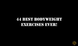Os 44 exercícios mais dífíceis de serem executados