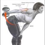 Dica de exercício – Coice com halter – Por Rubens Munhoz