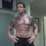 Treino, dieta e suplementação de Sylvester Stallone