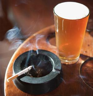 Alcool e Cigarro: 2 inimigos no seu treino
