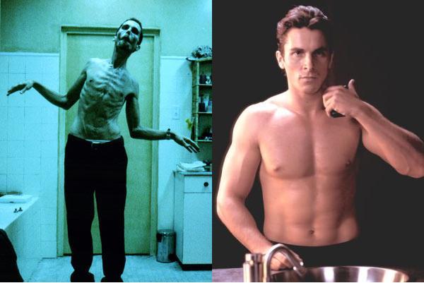Exercícios de Christian Bale – Treino do Batman