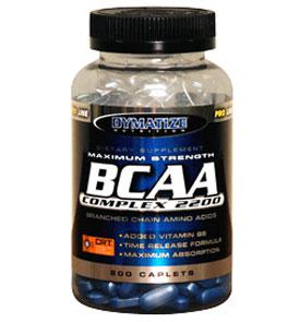 Suplemento BCAA