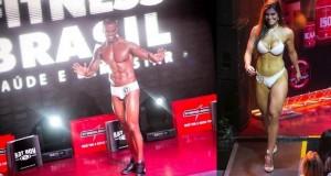 Cristiano Souza e Priscilla Carvalho são os vencedores do Garoto e Garota Fitness São Paulo 2014